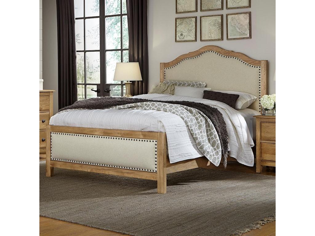Artisan & Post Artisan Choices Queen Upholstered Bed   Belfort ...