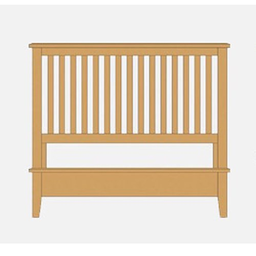 Artisan & Post Artisan Choices Queen Slat Bed with Low Profile Footboard