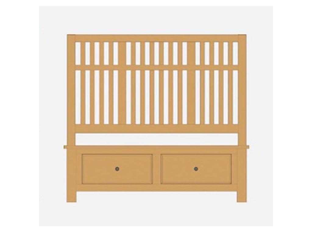 Artisan & Post Artisan ChoicesQueen Craftsman Slat Storage Bed