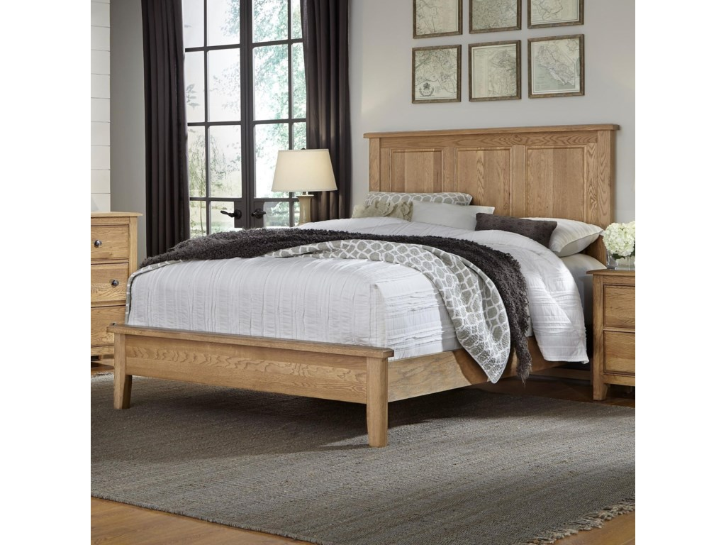 Artisan & Post Artisan ChoicesFull Panel Bed with Low Profile Footboard