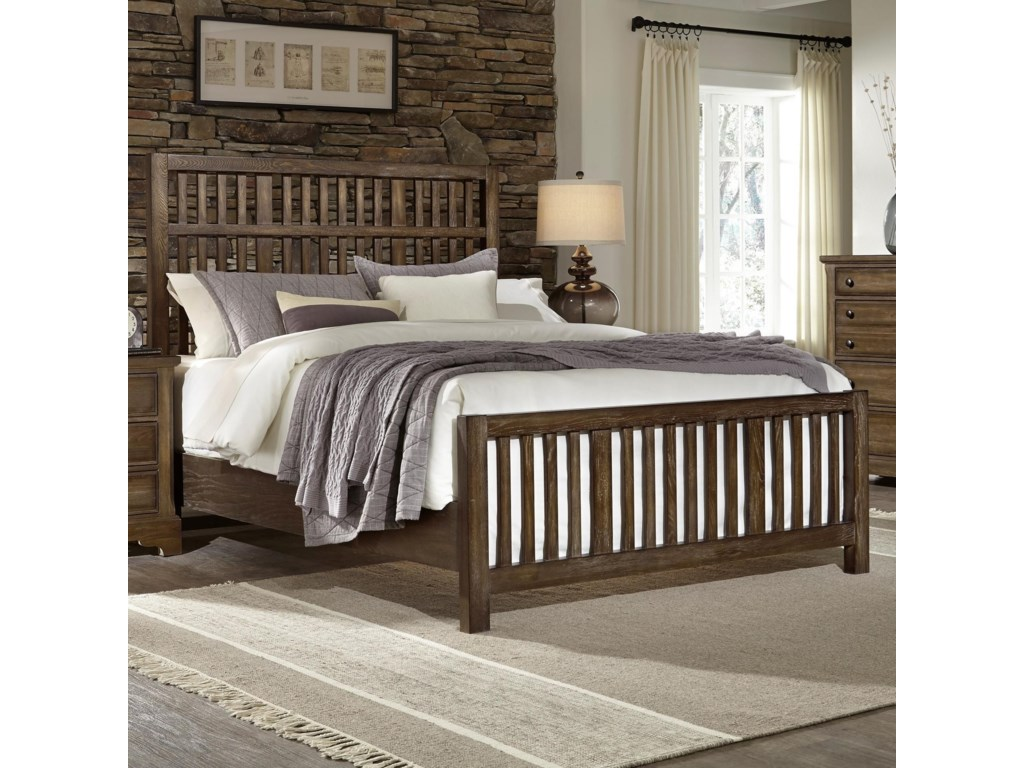 Artisan & Post Artisan ChoicesQueen Craftsman Slat Bed