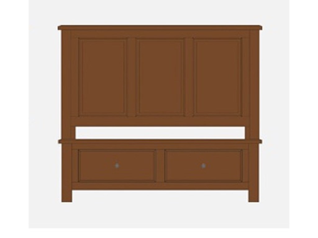 Artisan & Post Artisan ChoicesQueen Panel Storage Bed
