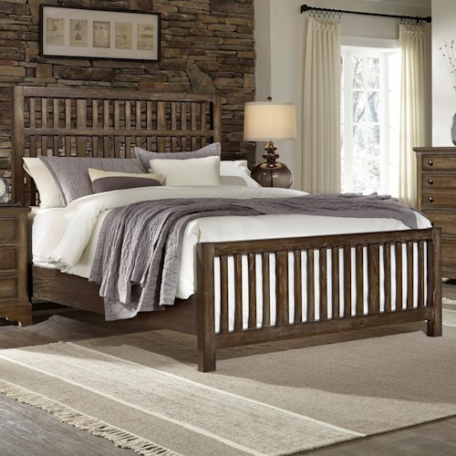 Artisan & Post Artisan Choices King Craftsman Slat Bed