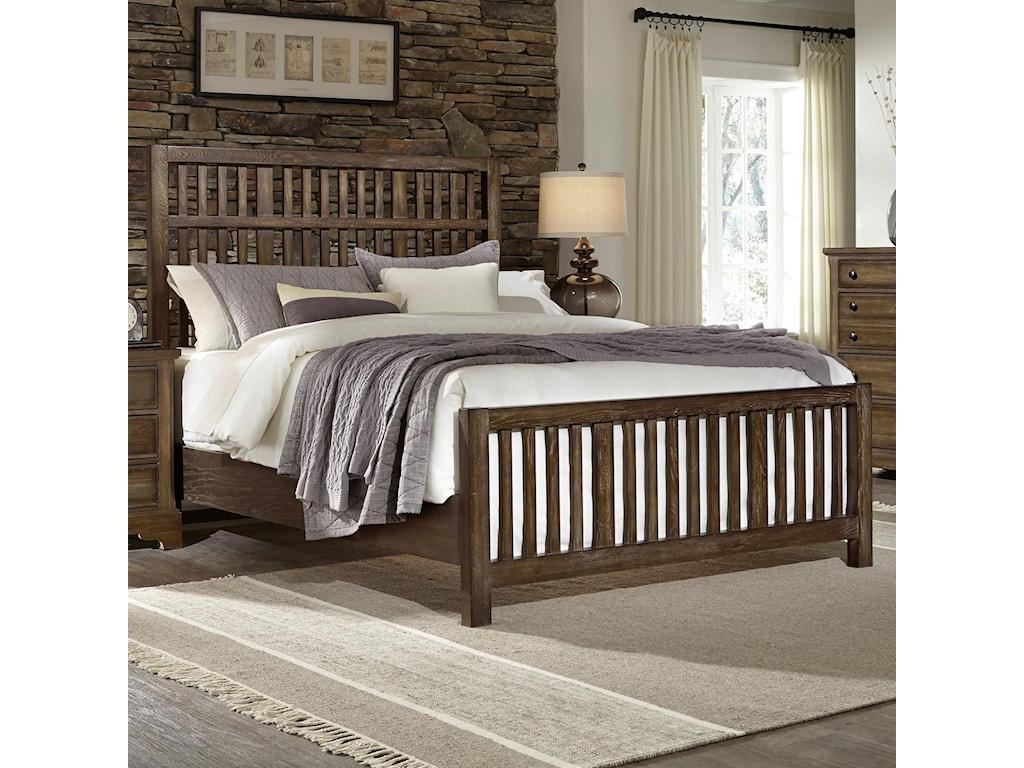 Artisan & Post Artisan ChoicesKing Craftsman Slat Bed