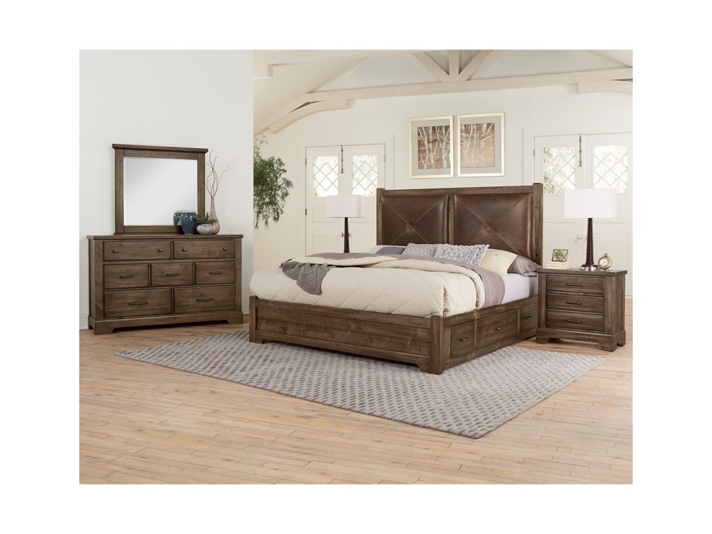 Artisan & Post Cool RusticKing Bedroom Group
