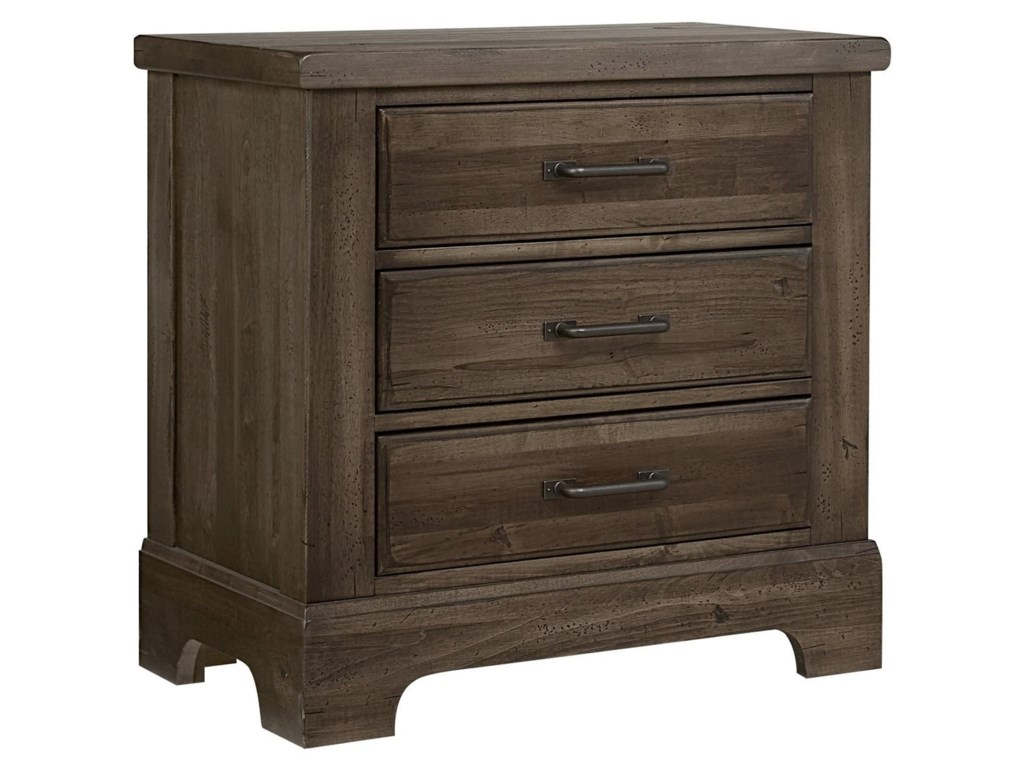 Artisan & Post Cool Rustic3 Drawer Nightstand