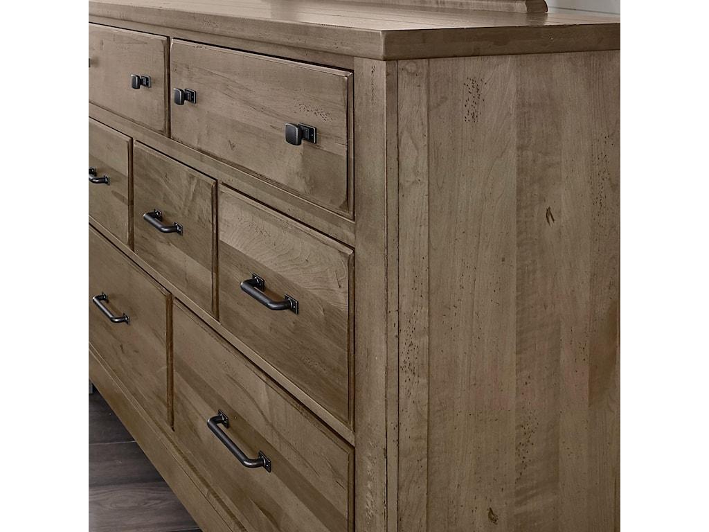 Artisan & Post Cool Rustic7 Drawer Dresser