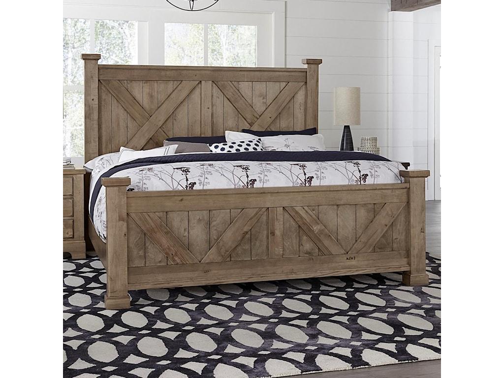 Artisan & Post Cool RusticQueen Barndoor X Bed