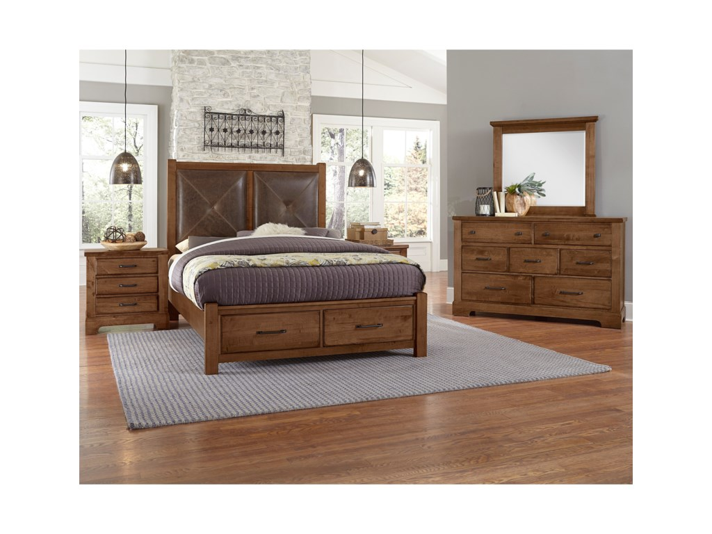 Artisan & Post Cool RusticKing Bedroom Group