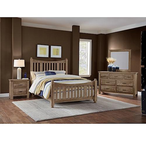 Artisan & Post Maple Road King Bedroom Group