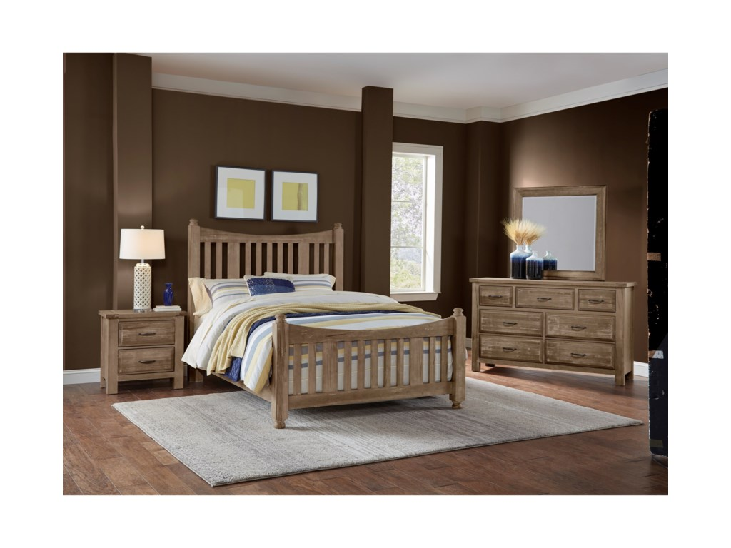Artisan & Post Maple RoadKing Bedroom Group