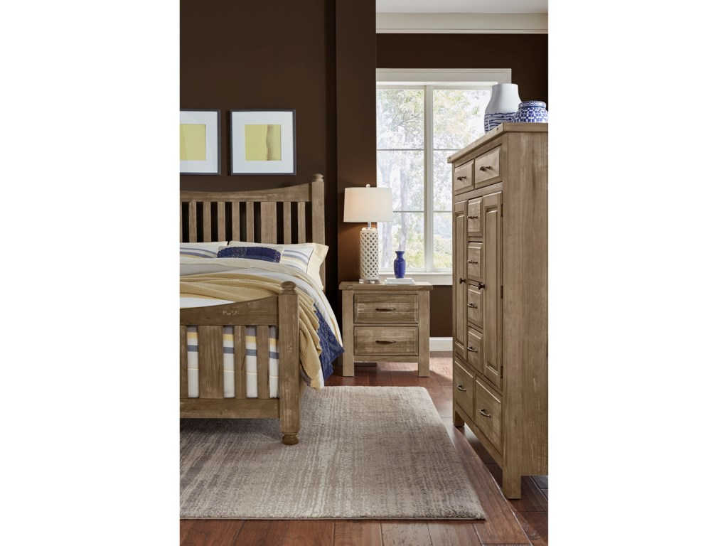Artisan & Post Maple RoadQueen Slat Poster Bed