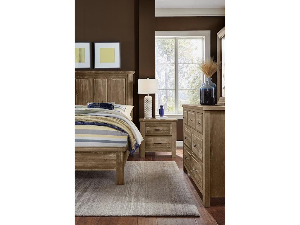 Artisan & Post Maple RoadKing Mansion Bed