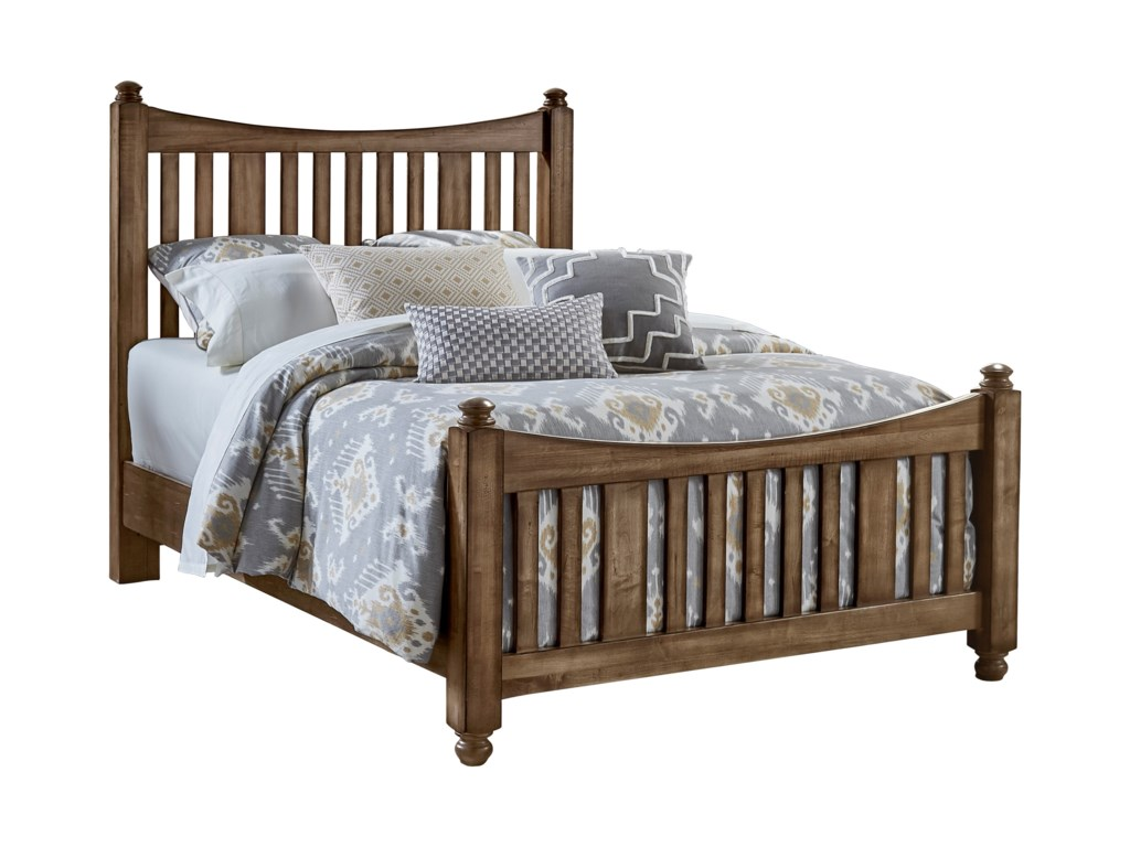 Artisan & Post Maple RoadKing Slat Poster Bed