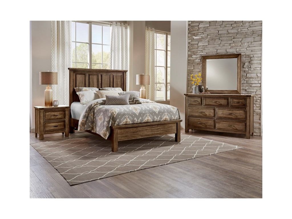 Artisan & Post Maple RoadQueen Mansion Bed