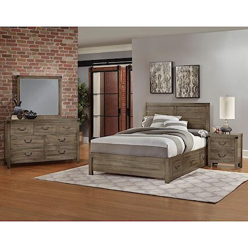 Artisan & Post Sedgwick King Bedroom Group