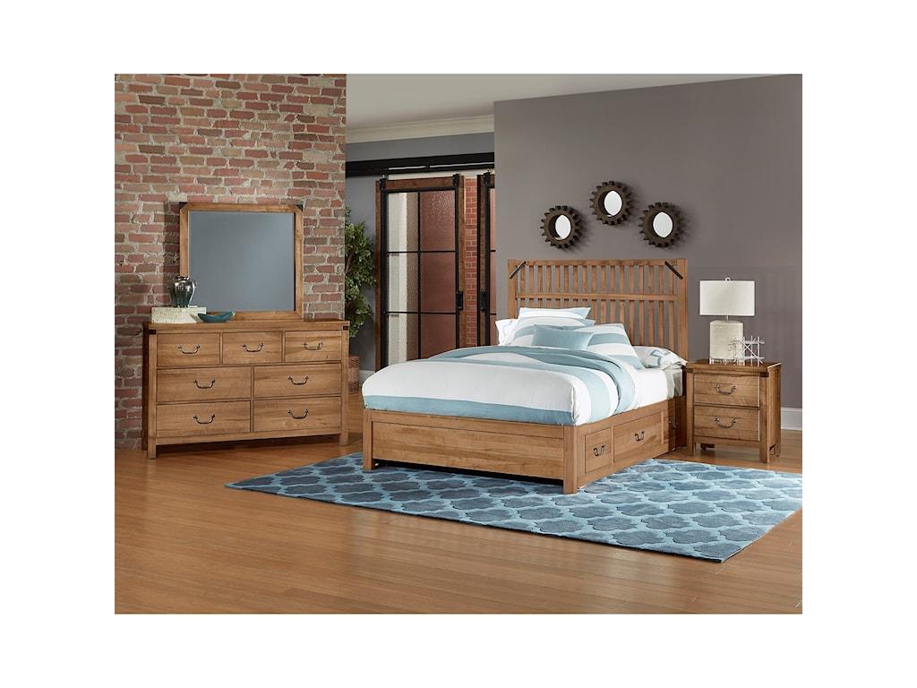 Artisan & Post SedgwickQueen Bedroom Group