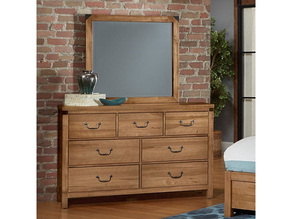 Virginia House SedgwickDresser with Mirror