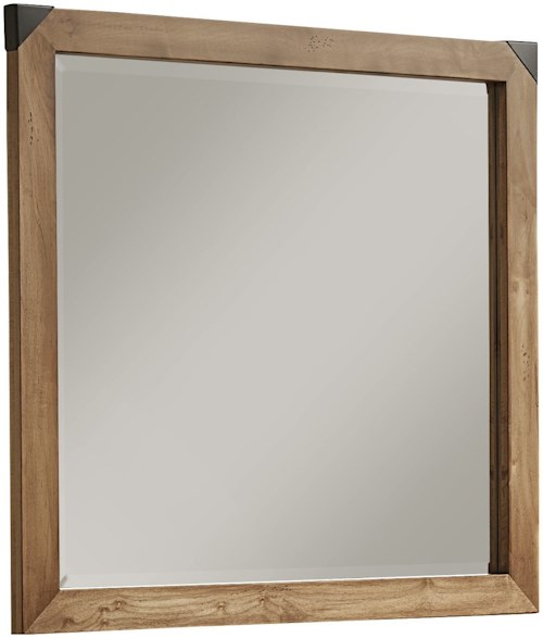 Artisan & Post Sedgwick Contemporary Landscape Mirror with Solid Wood Frame
