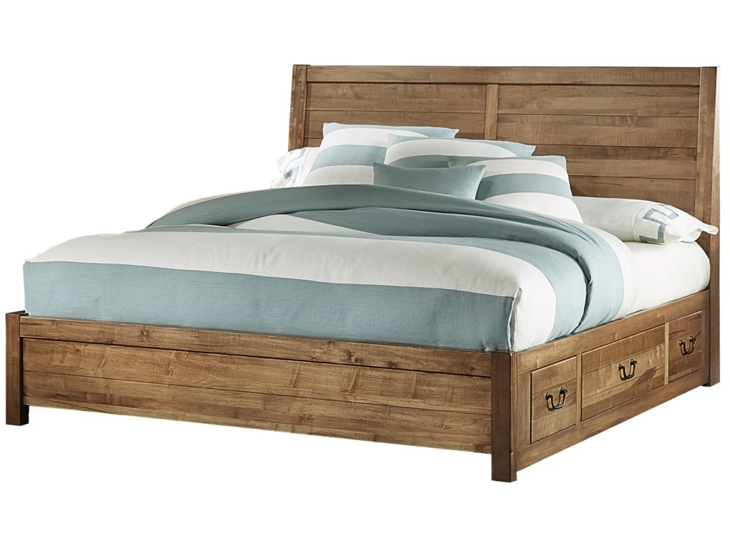 Artisan & Post SedgwickKing Panel 6 Drawer Storage Bed
