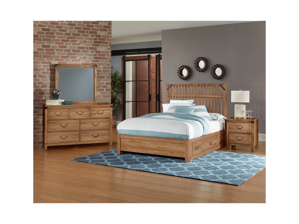 Artisan & Post SedgwickKing Bed with Storage