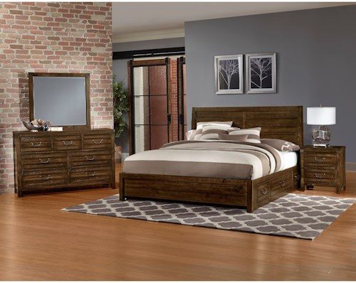 Artisan & Post Sedgwick King Bedroom Group