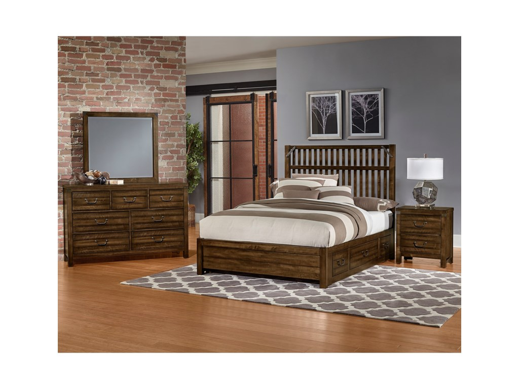 Artisan & Post SedgwickQueen Bed with Storage