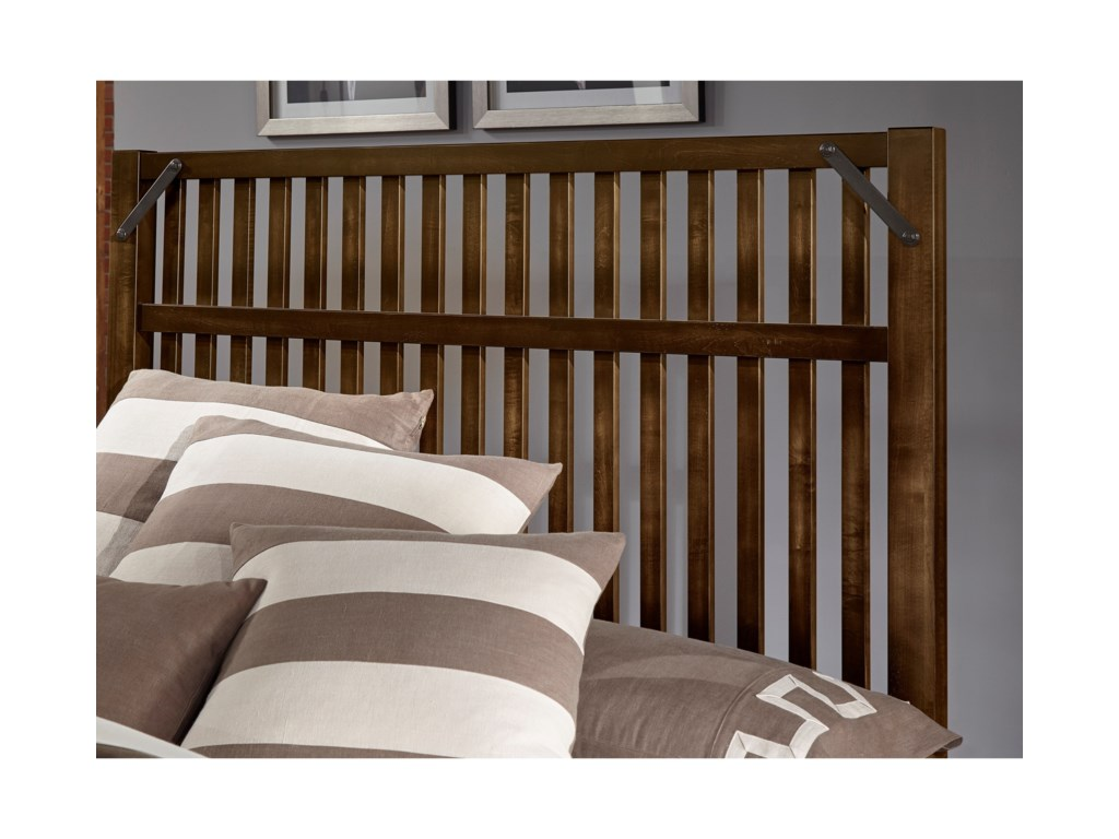 Virginia House SedgwickKing Bed with Storage