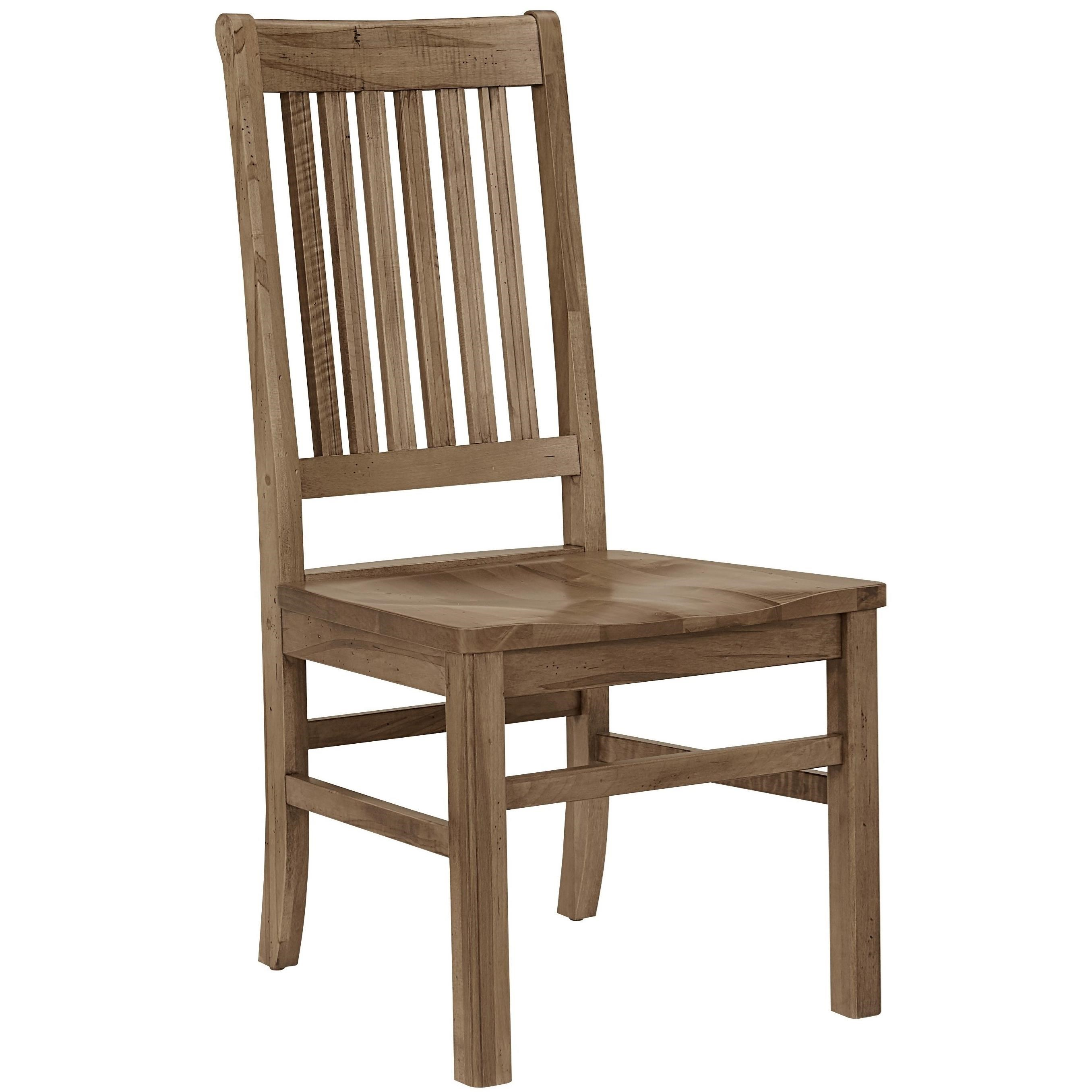 Simply Dining Maple Casual Solid Wood Roll Top Side Chair By Artisan U0026 Post