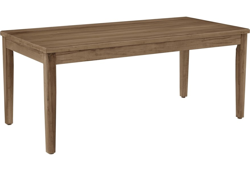 Simply Dining-Maple Solid Wood 72\