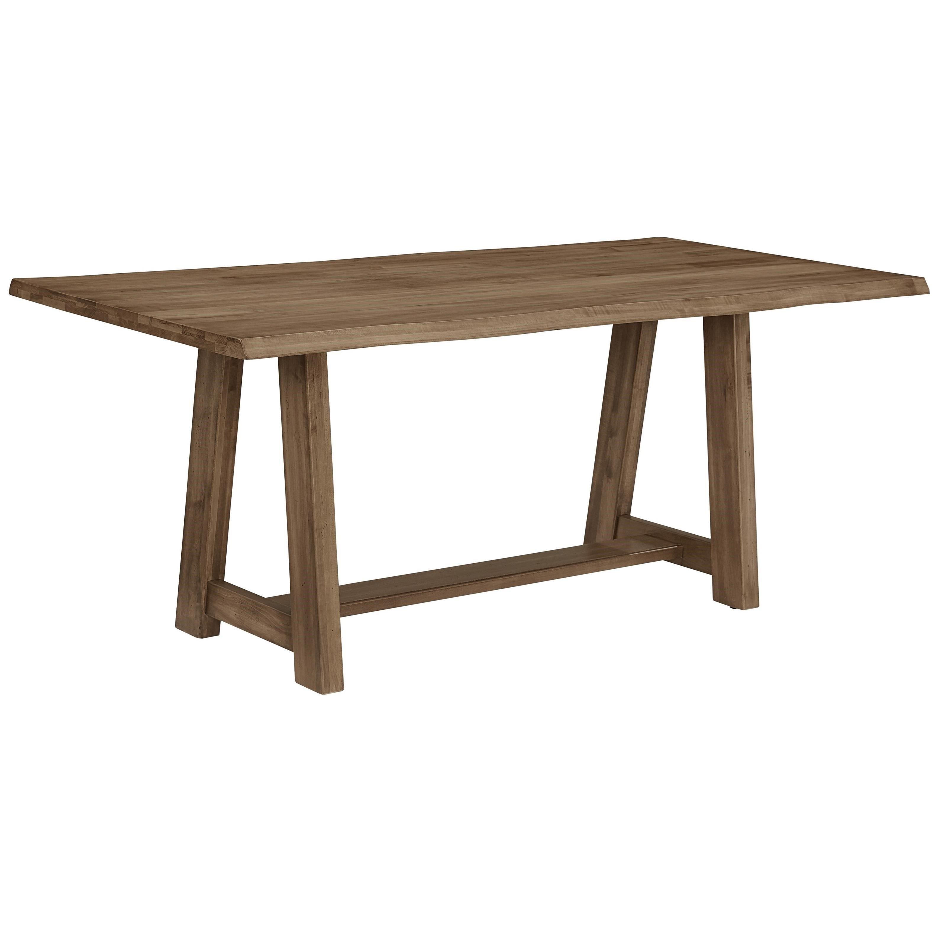 Artisan U0026 Post By Vaughan Bassett Simply Dining MapleLive Edge Dining Table  ...