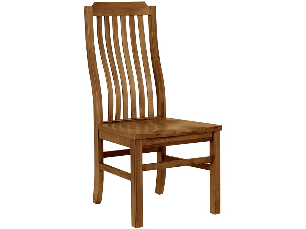 Artisan & Post Simply Dining-MapleVertical Slat Chair