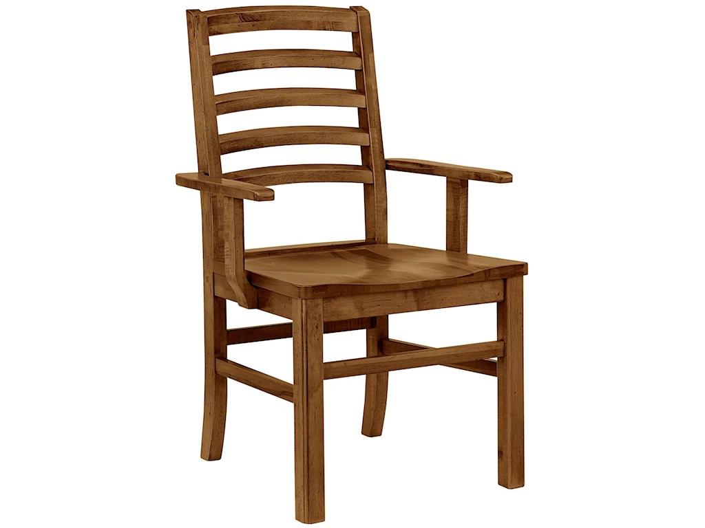 Artisan Post Simply Dining MapleDining Arm Chair