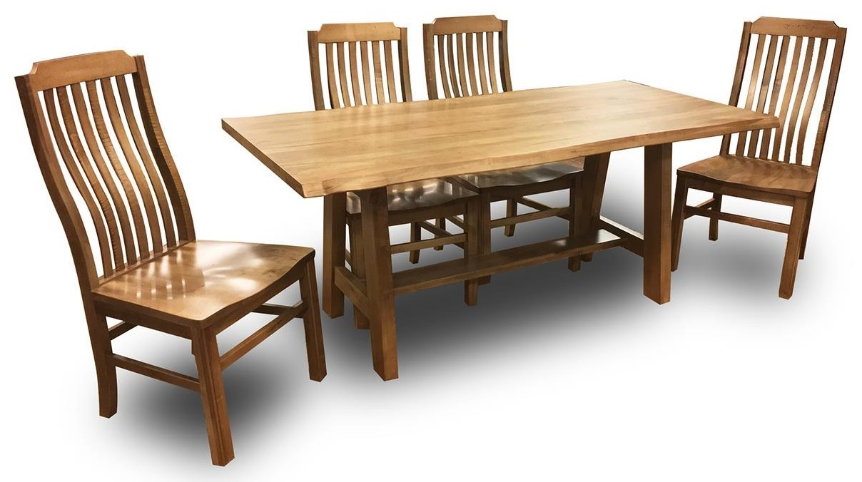 Artisan U0026 Post Simply Dining Maple5 Piece Dining Set ...