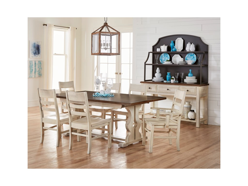 Artisan Post By Vaughan Bassett Simply Dining Formal Room Group