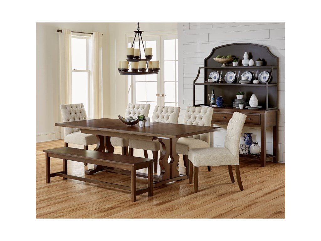 Artisan Post By Vaughan Bassett Simply Dining Casual Room Group