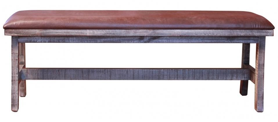 International Furniture Direct 900 AntiqueBreakfast Bench