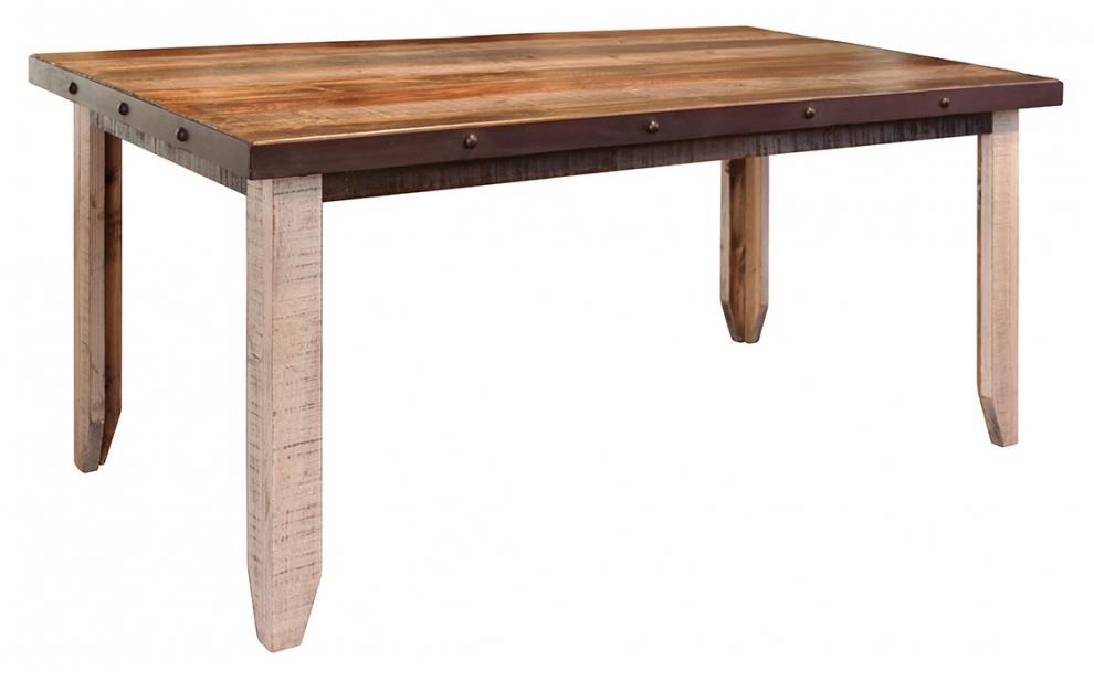 International Furniture Direct 900 AntiqueDining Table ...