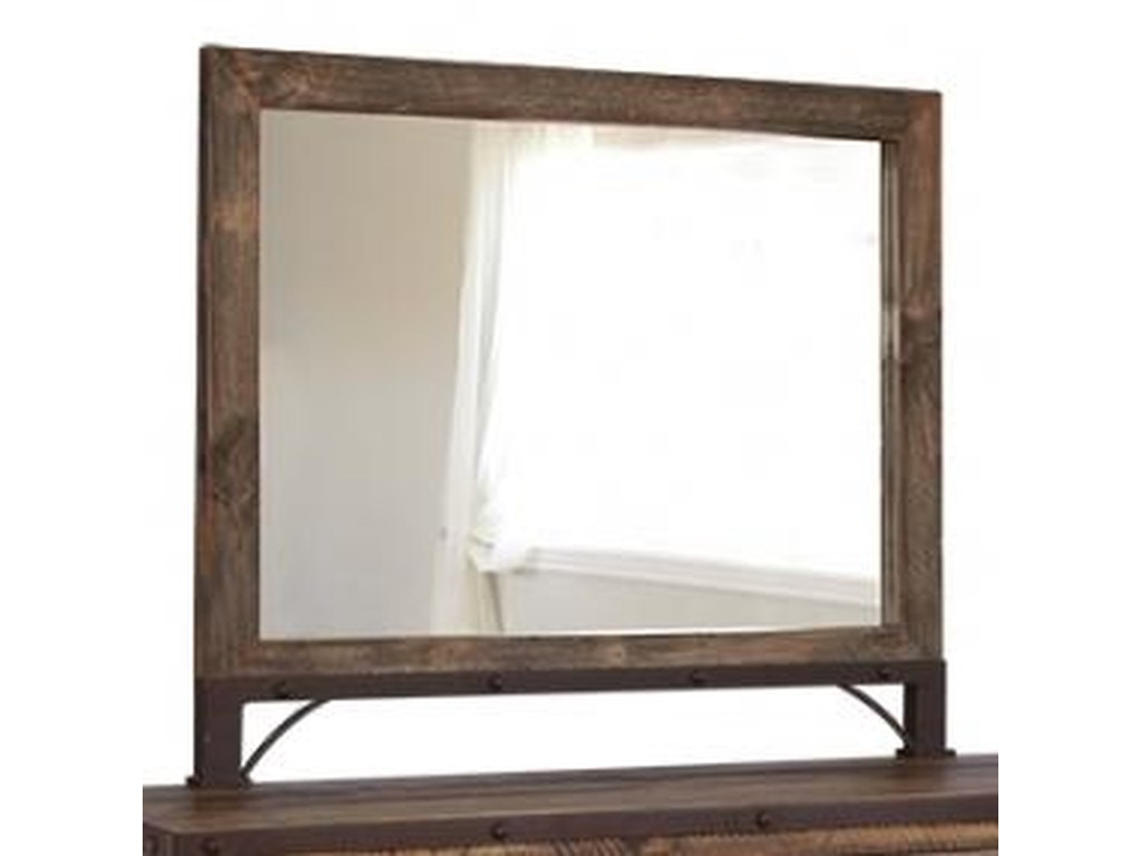 International Furniture Direct 900 AntiqueMirror