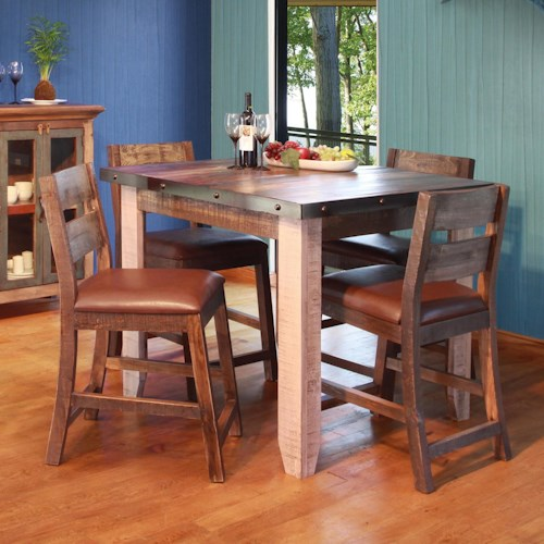 International Furniture Direct 900 Antique 42\