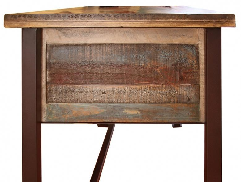 International Furniture Direct 900 AntiqueWriting Desk