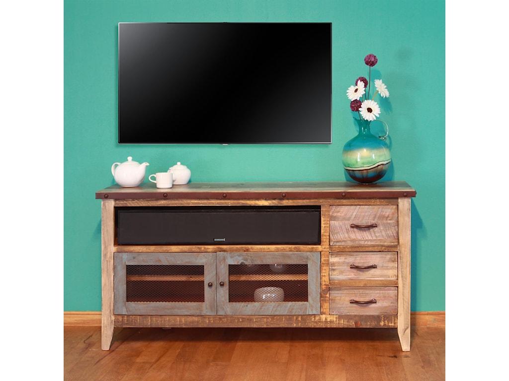 International Furniture Direct 900 AntiqueSolid Pine 62
