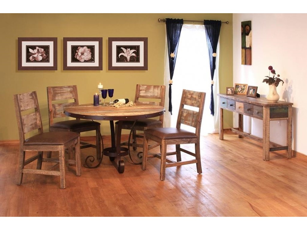 Artisan Home 900 Antique5 Piece Table & Chair Set