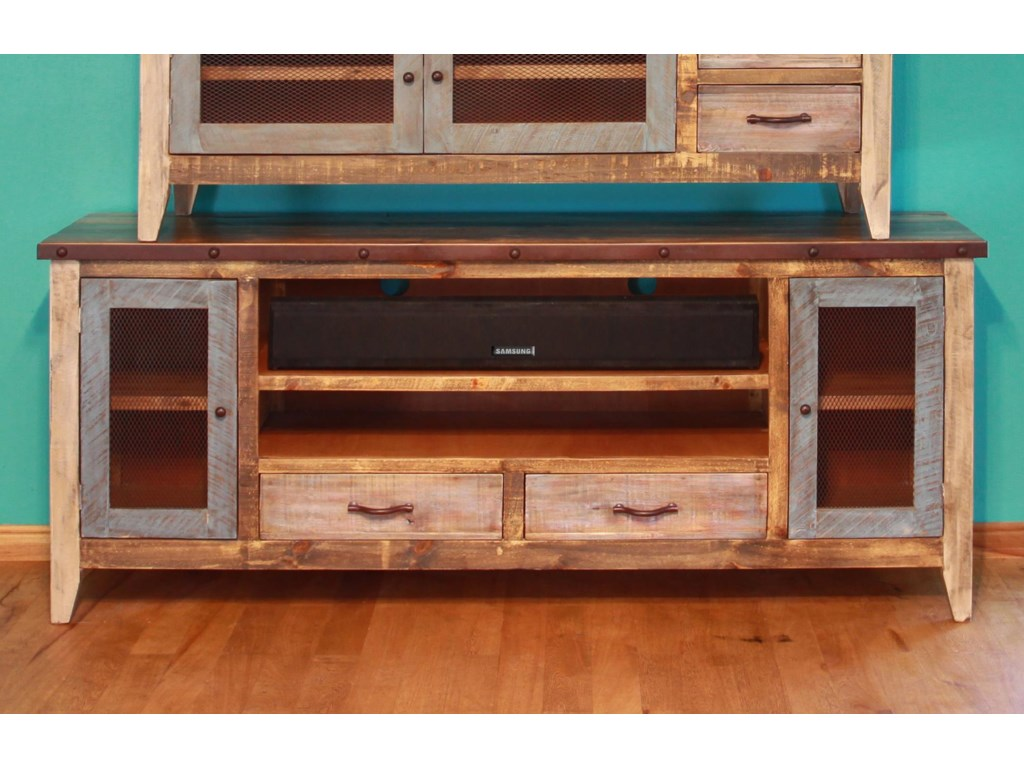 International Furniture Direct 900 AntiqueSolid Pine 76