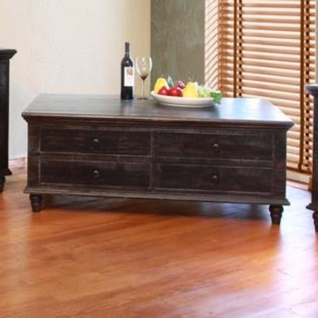 8 Drawer Cocktail Table