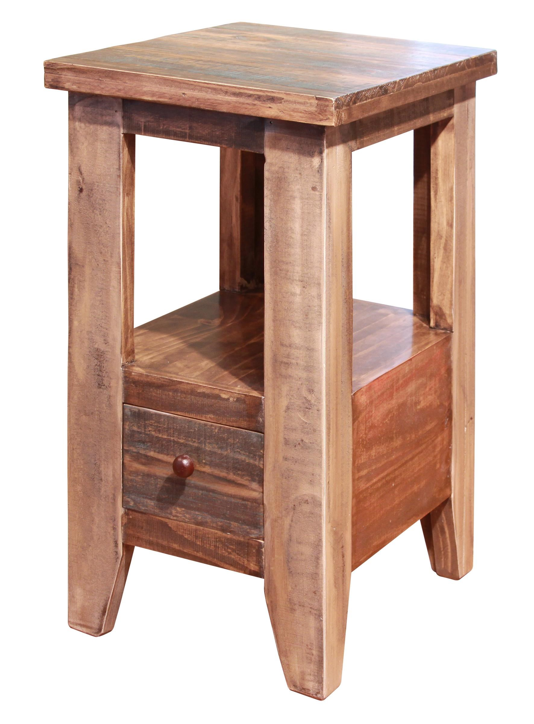 Chair Side Table with 1 Drawer