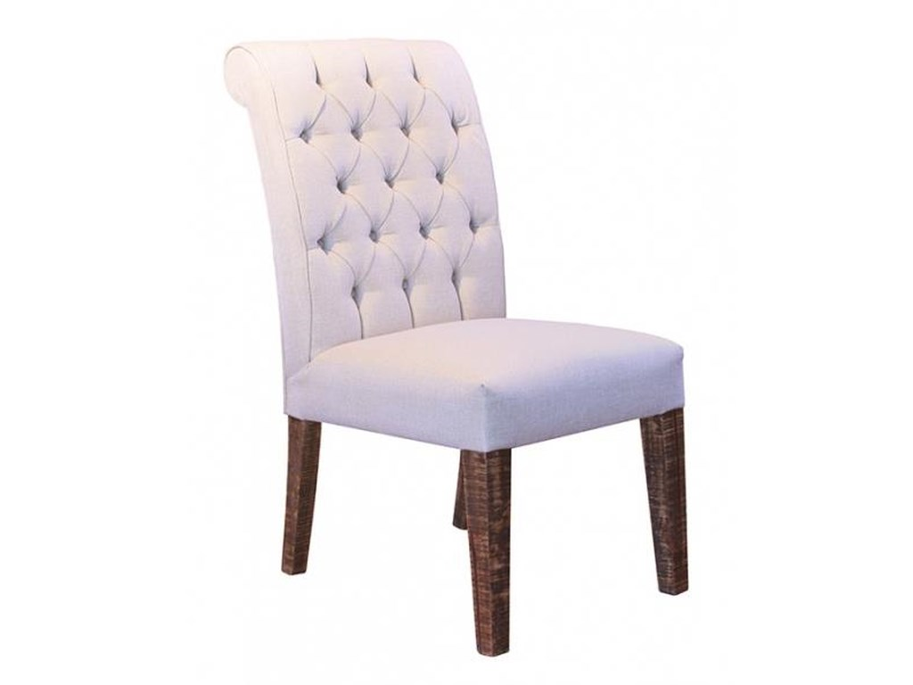 International Furniture Direct Milan 683Traditional Upholstered Chair
