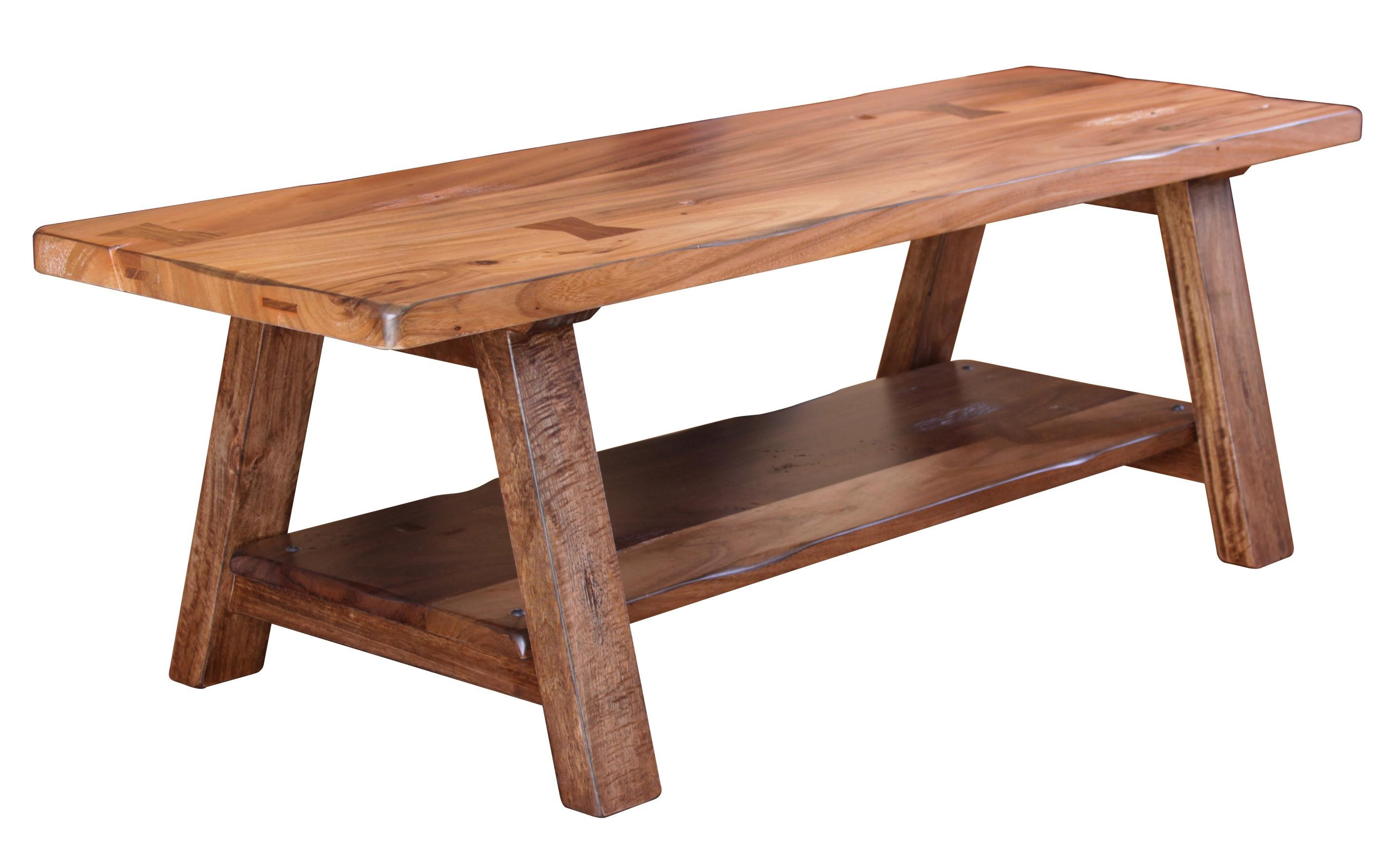 International Furniture Direct ParotaSolid Wood Dining/Bedroom Bench ...