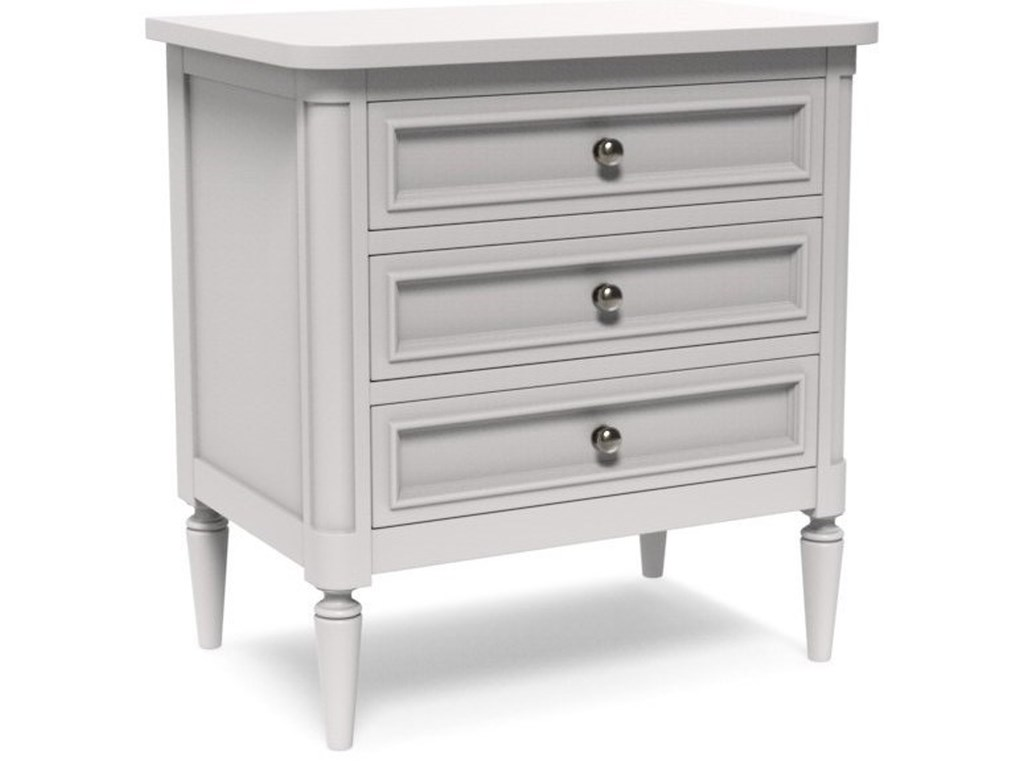 Artiste Furniture CharlotteCustomizable Medium Nightstand