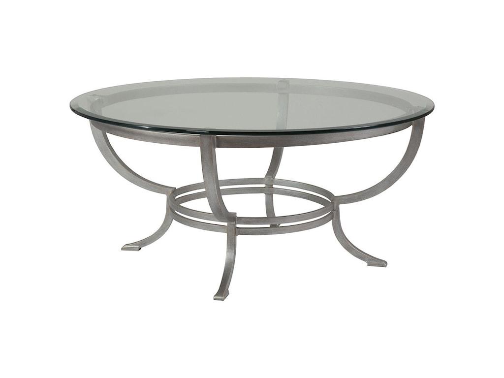 Artistica Artistica MetalAndress Round Cocktail Table
